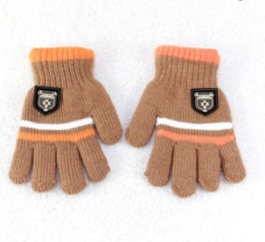 High Quality Sublimation Printing Knitted Glove pictures & photos