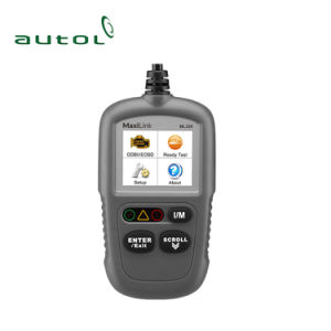 OBD2 Car Code Reader Scanner Autel Maxilink Ml329 Update Version of Al319 Ml329 OBD2 Scanner pictures & photos