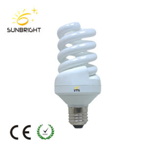 E27 Full Spiral Energy Saving Light Bulb of White Yellow Light pictures & photos
