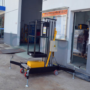 Mast Aerial Work Platform Lift (Max Platform Height 8m) pictures & photos