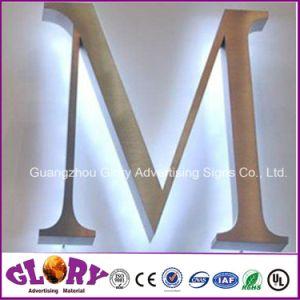 Waterproof Metal Backlit Logo LED Letter Sign pictures & photos