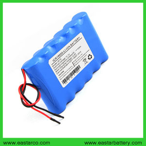 Ce Approved 11.1V 5200mAh Lithium Ion Battery for Medical Equipment pictures & photos