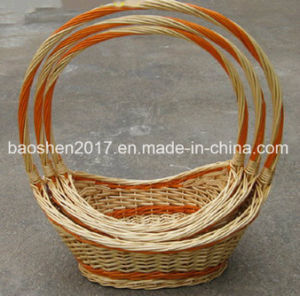 Wicker Fruit Basket for Promotion pictures & photos