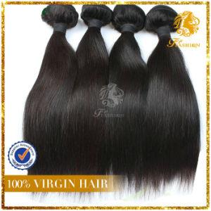 Aaaaaa Grade 100% Remy Human Hair Brazilian Hair Top Fashion Texture Straight Weft pictures & photos