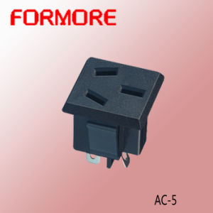 AC Power Socket /AC Socket /French Socket pictures & photos