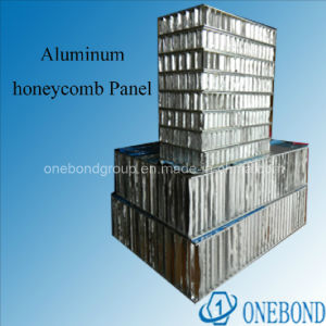 Onebond Aluminum Sanwich Honeycomb Panel for Curtain Wall pictures & photos