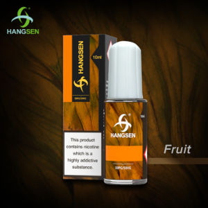 Hangsen 50vg E Juice Vaping E-Liquid with Tpd Certificate pictures & photos