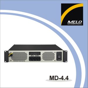 Professional Four Channel Amplifier MD-4.4
