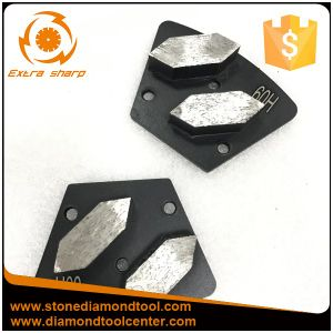 New Design Segments Diamond Grinding Shoes for Concrete Floor pictures & photos