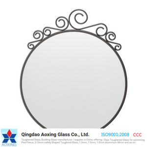 Color Mirror Manufacture for Decorative Mirror/Makeup Mirror pictures & photos