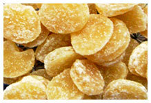 Crystallized Ginger Select Circle