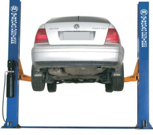 3.2t Hydraulic Two Post Auto Vehicle Garage Car Lift