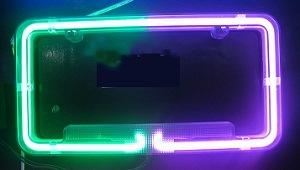Car Light/ Neon License Frame