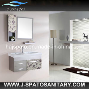 High Quality Stainess Steel Cabinet Bathroom Mirror Cabinet (JS-SS803)
