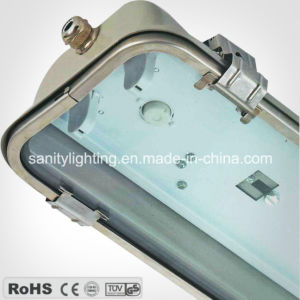 Stainless Steel Tri-Proof Fluorescent Lamp/Light (S7236L)