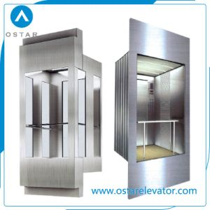 Glass Panoramic Cabin for Observation Passenger Elevator, Elevator Cabin (OS41) pictures & photos