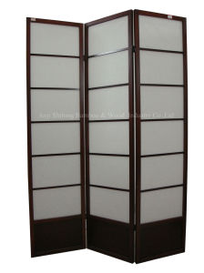Traditional Pattern 3 Panel Shoji Screen(SJ-8116)