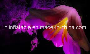 Open LED Flower for Wedding/Wedding Decoration Inflatable Flower/Hanging Inflatable LED Flower