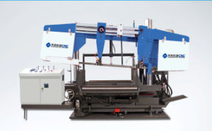 CNC Angle Rotation Band Sawing Machine for H-Beams pictures & photos