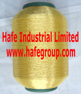 Pure Gold or White Gold Metallic Yarn (MS-Type) pictures & photos