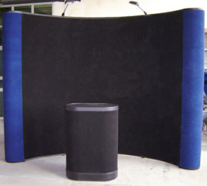 10FT Curvy Fabric Pop up Display Stand for Trade Show pictures & photos