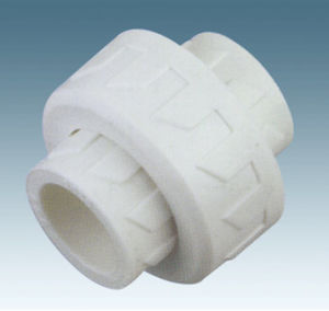 PPR Fitting-Plastic Union (White)
