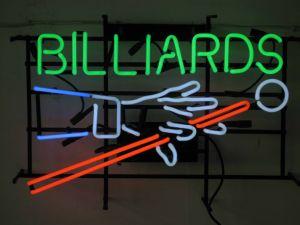 Billiards Neon Sign (SDL-060)