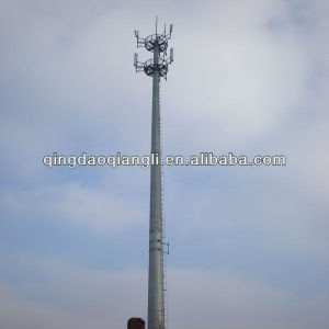 GSM Communication Telecom Monopole Tower (ANSI-TIA-222G)