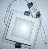 LED Panel Glass 12W pictures & photos