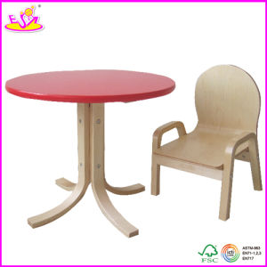 Beautiful Wooden Table and Chairs Toy for Kids, Lovely Wooden Toy Table and Chairs for Children, Wooden Table and Chairs W08g069 pictures & photos