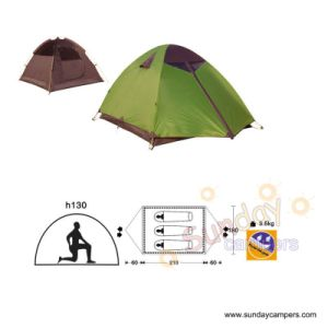 3 Person Dome Waterproof Poly Taffeta Camping Tent (SCC-917) pictures & photos