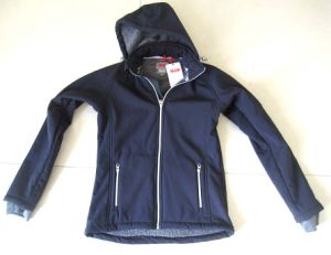 Ladies Breathable Hooded Softshell Jacket (968)
