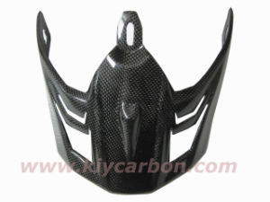 Carbon Fiber Motorbike Helmet Shield pictures & photos
