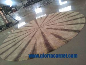 Hand Tufted / High Quality Vicose Rug pictures & photos