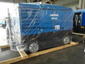 Atlas Copco Liutech 756cfm Blasting Portable Diesel Air Compressor pictures & photos