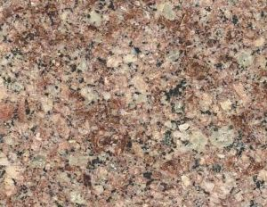 G611 Almond Mauve Polished Granite Slab pictures & photos