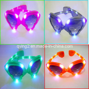 LED Flashing Christmas Glasses (QY-LS020) pictures & photos