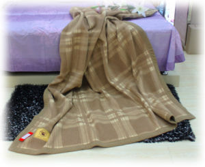 Cashmere Bedding /Camel Wool Blankets/ Wool Textile/Fabric/Bed Sheet pictures & photos