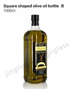 Square Share Olive Oil Bottle pictures & photos