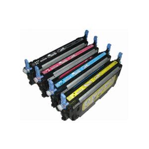 Compatible Color Toner Cartridge for HP Q6470A, Q6471A, Q6472A, Q6473A
