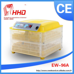 CE Certificate Mini Poultry Egg Incubator Automatic Small 96 Egg Incubators Hatchery Machine (EW-96A)