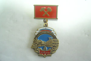 Russia Gold Metal Medal Sign Military Medal Badge Hard Enamel Medal