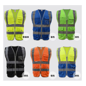 Cheap Work Clothes for Men with 3m Reflective Tape (QF-580) pictures & photos