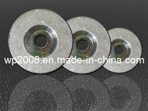 Diamond Grinding Blade for Semiconductors, Diamond Disc, Diamond Wheel. Electroplade Diamond Tools for Silicon, Diamond Wheels for Surface Grinding pictures & photos