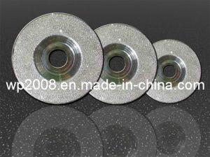 Diamond Grinding Blade for Semiconductors, Diamond Disc, Diamond Wheel. Electroplade Diamond Tools for Silicon, Diamond Wheels for Surface Grinding pictures & photos