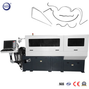 Automatic 3D CNC Steel Wire Bending Machine (GT-WB-120-7A) pictures & photos