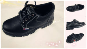 Cow Split Leather Safety Shoes (QS-SS-02)