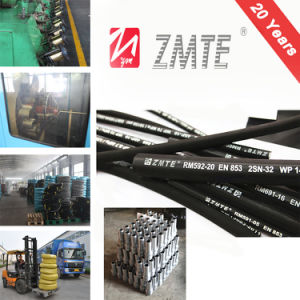 SAE 100r2at Hydraulic Rubber Hose for Hydraulic Support pictures & photos