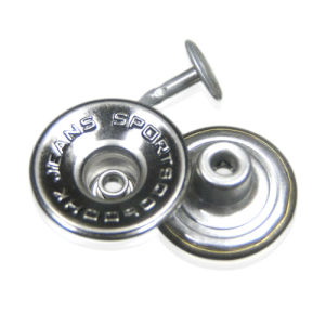 Metal Shank Button for Jeans Sports