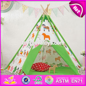 Classic Indian Kids Play Teepee Funny Toy Tent Indoor Kids Play Teepee W08L012 pictures & photos